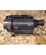 Sony Handycam CCD-TRV25 8mm Video8 XR Camcorder Player Video Transfer Ex... - $74.25