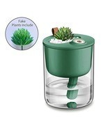 Desk Humidifier, USB Cool Mist Humidifier, Quiet Ultrasonic Mini (Green) - $36.92
