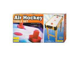 Air Hockey Game Table Set Bulk case of 1 - $44.99