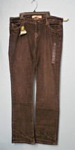 NWT Womens size 12L 12 long GAP Straight leg lowrise stretch rustic black jeans - $34.99
