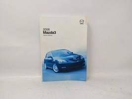 2008 Mazda 3 Owners Manual 74892 - $26.29