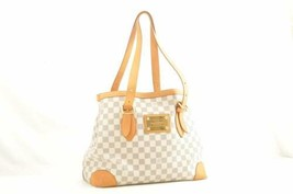 LOUIS VUITTON Damier Azur Hampstead MM Tote Bag N51206 LV Auth 10704 - $750.00