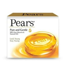 Pears Gentle glycerin bar soap 2X 100g - $7.42