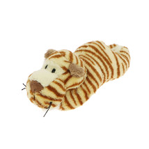 MagNICI Tiger Brown Stuffed Toy Animal Magnet in Paws 5 inches 12 cm - $11.00