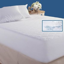 Home Essentials Quilted Waterproof Mattress Pad Protective Twin Full Que... - $29.65+