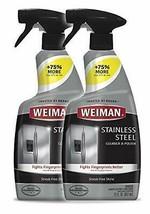 2-Pack Weiman Stainless Steel Cleaner & Polish Trigger Spray, 12 Fl  Oz - $18.90