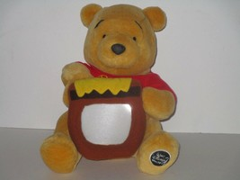 Walt Disney World Winnie the Pooh Holding Honey Pot Photo Frame Plush - $12.19