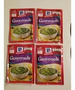 4 packs McCormick GUACAMOLE Seasoning Mix 1oz per packet 5/24/2021 - $14.85