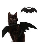 Ausein Halloween Pet Bat Wings Costume for Cat Dog, Cat Kitty Bat Wings ... - £7.49 GBP