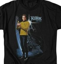 Captain James T. Kirk Star Trek USS Enterprise Retro Sci-Fi TV series CBS906 image 2