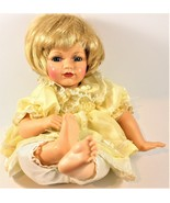 Bob Carlisle's Butterfly Kisses Precious Collectibles Blonde Doll Yellow... - $24.74