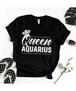 QUEEN AQUARIUS T-SHIRT - $19.99+