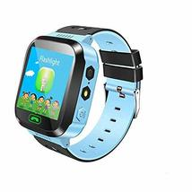 Xiaomi Mitu Children Smart Watch Camera Lighting Touch Screen SOS Call Blue - $46.53