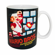 Super Mario Bros. NES Coffee Mug Black - $16.98