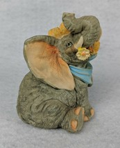 "Regency Fine Arts Collectible Elephant First Love Figurine 3-1/2"" - $18.80"
