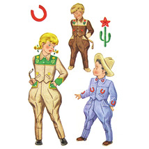 1940s Vintage McCall Sewing Pattern 1519 Childrens Jodhpur Play Suit Tra... - $39.95