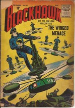 Quality Blackhawk #107 The Winged Menace Red Helicopter Ambush Last Quality - $9.95