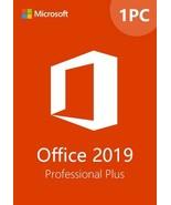Microsoft Office 2019 Pro Plus 32/64   Genuine License - $39.99