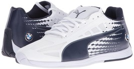 Puma Bmw Men's Premium EvoSpeed MS Sport Athletic Sneakers Shoes White 30588302