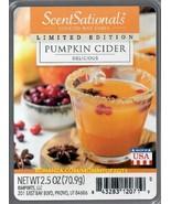 Pumpkin Cider ScentSationals Scented Wax Cubes Tarts Melts Potpourri - $3.50