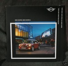 Mini Cooper Booklet- LOTS OF INFORMATION - $2.50