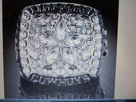 1995 Dallas Cowboys Championship Fans RING,18KARAT Gold Plate(Troy AIKMAN)--RB19 - $9.99