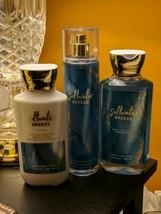 Bath & Body Works SALTWATER BREEZE Fine Fragrance Mist Lotion Shower Gel... - $37.95