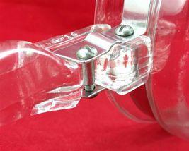 Pyrex Flameware 6283U 1½ qt Vintage Glass Saucepan w/ Stainless Steel Band image 9