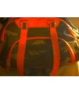 3 New York dog small dog carrier 16 x 9.5 CAMO ORANGE INTREPID book bag ... - $31.79
