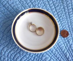 6 British Airways First Class Small Plates Royal Doulton Bone China Ring... - $28.00
