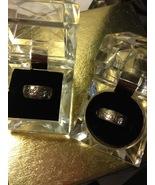 """LOVE"" and ""BELIEVE"" Sterling Silver Designer RINGS - LA 925 - Size 8 - €33,55 EUR"