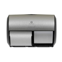Georgia-Pacific 56796A 2-Roll Side-by-Side Coreless High-Capacity Dispenser - $32.82