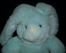 "10"" VINTAGE 1989 COMMONWEALTH BLUE BABY BUNNY RABBIT STUFFED ANIMAL PLUSH TOY image 2"