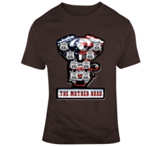 Route 66 V Twin Engine, The Mother Road T Shirt - $26.99+