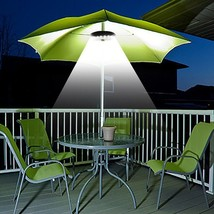 Patio Led Umbrella Pole Light Cordless Energy Saving Camping Tents Outdoor - $13.99