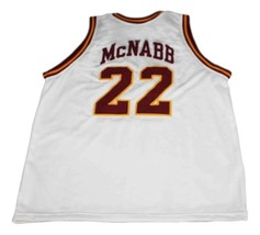 Donovan McNabb #22 Mount Carmel High School Basketball Jersey New White Any Size image 4