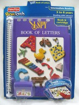 NEW PowerTouch Learning System + Cartridge I SPY Book of Letters Fisher Price  - $22.72