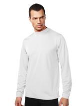 Tri-Mountain Heron 626 Knit Mock Neck Shirt - White - $19.60+