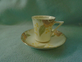 Ref 004 Vintage Royal Doulton Cup and Saucer Nerissa Pattern Circa 1928 – 1973 - $13.79