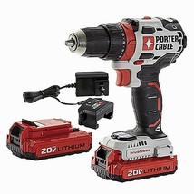 Cordless Brushless Drill 20 Volt Max 1/2 In Power Tools Portable Powerfu... - $149.19
