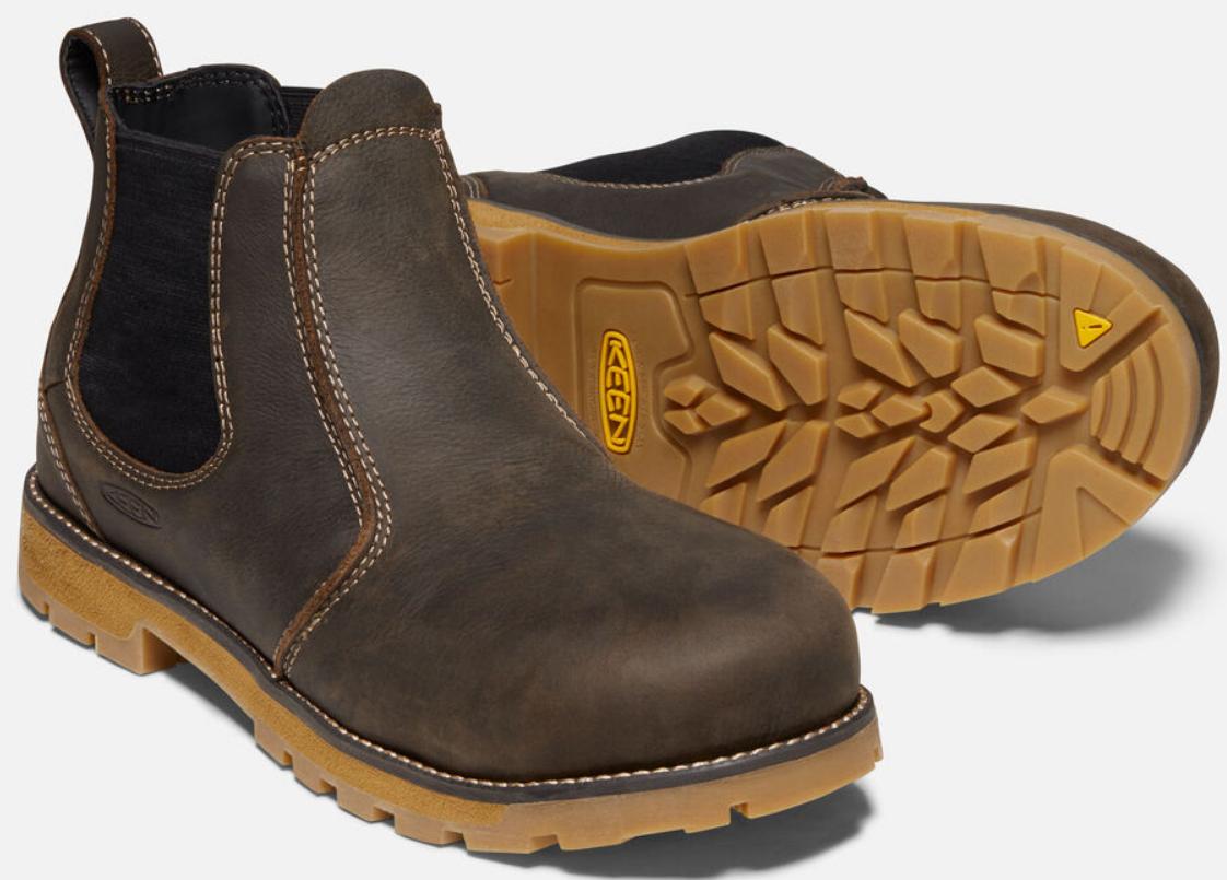 Keen Seattle Romeo Size 11.5 M (D) EU 45 Men's Aluminum Toe Work Shoes 1021344