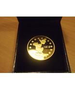 Extremely Rare! Gold Walt Disney Emil Erpel 1818 Coin 1 Taler Entenhause... - $69.30