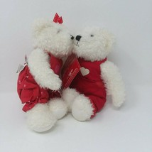 Vintage Hallmark Blushing Bears NWT Kissing Magnet Nose Valentine's Day ... - $17.56