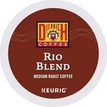 Diedrich Rio Blend Coffee 48 count Keurig K cups, FREE SHIPPING  - $34.58
