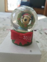 """Mickey Mouse Snowglobe Christmas JCPenney Salvation Army 2011 Disney 2.25"""" - $6.92"""