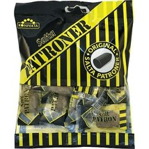 Salta Patroner Hard Salty Licorice Candy Bullets 3.1 oz Made in Sweden - $7.91