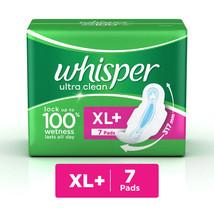 Whisper Ultra Clean XL Wings Sanitary 7 Pad STAY ALWAYS FRESH - $6.91
