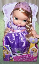 "Disney Princess Baby Rapunzel 11"" Doll with pacifier New - $26.88"