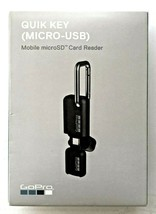 GoPro Quik Key USB Android Micro SD Mobile Photo Video Card Reader - NEW - $29.99