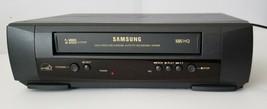 Vintage Samsung VR5409 VHS HQ Player 4 Head HiFi Stereo System Remote Ca... - $64.34